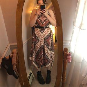 American Rag Long Patterned Dress